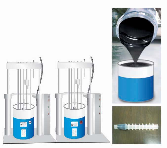 caoutchouc de silicone liquide conductible isolateur haute. Black Bedroom Furniture Sets. Home Design Ideas