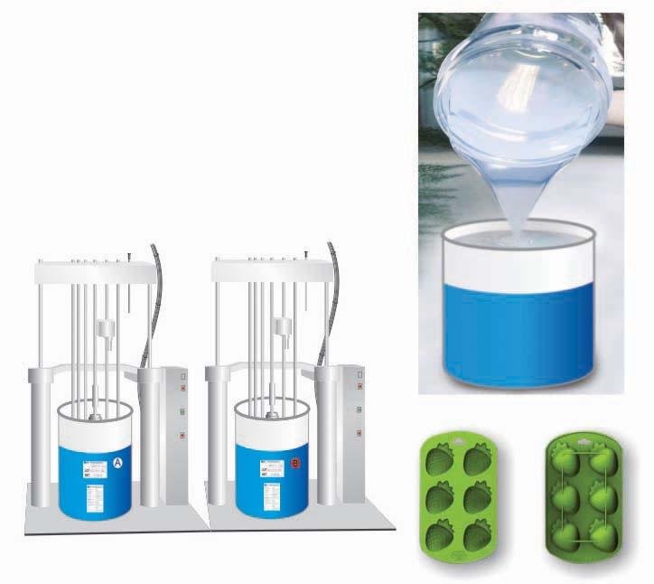 caoutchouc de silicone liquide pour moule g teau lubrifiant silicone additif. Black Bedroom Furniture Sets. Home Design Ideas