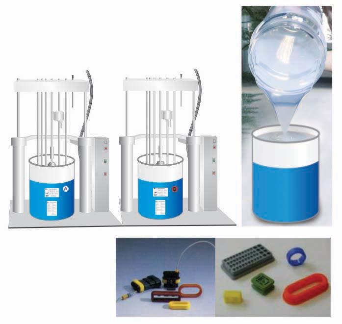 caoutchouc de silicone liquide pour pont isolateur haute tension gel de silicone. Black Bedroom Furniture Sets. Home Design Ideas